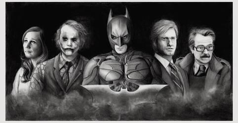 The Dark Knight by juliablanco