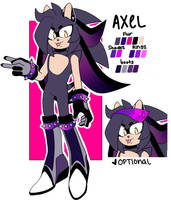 Axel the Hedgehog by Toketsuu
