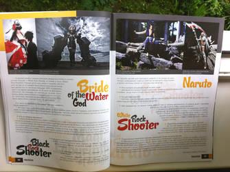 My interview for the magazine ProCosplay 2 by Sasuko555