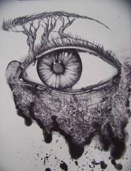 eyeland lithograph by Jorsburn
