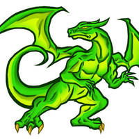 vegiepire's dragon by CroctopusArt