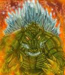 Zilla Final by CroctopusArt