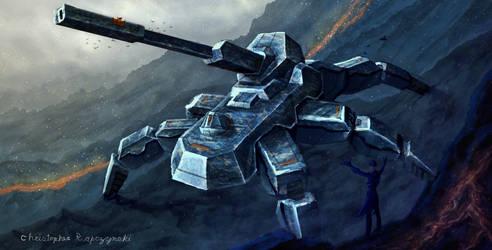 Crab Tank by LuigiPunch