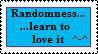 Randomness Stamp by knowlee
