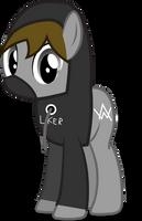Request(1/2): Alan Walker Pony by ColourMan59
