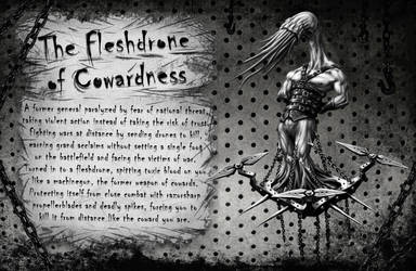 The Fleshdrone of Cowardness by Cane-force