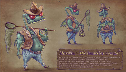 Marwin - The tenacious Nomad by Cane-force