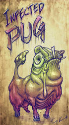 Infected Pug by Cane-force
