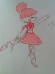 Baby the Ballerina by lovingkitten29