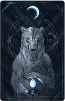 The Weeping Bear by Dygee