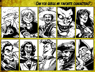 Can You Guess My Favorite Characters? by ACZamudio