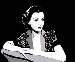 Vivien Leigh by pin-n-needles
