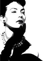 Ava Gardner by pin-n-needles