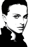 Natalie Portman by pin-n-needles