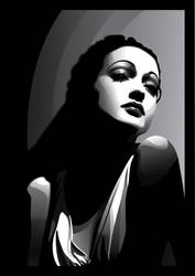 Dorothy Lamour by pin-n-needles