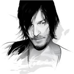 Daryl Dixon by pin-n-needles