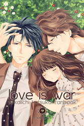 Sekaiichi hatsukoi - Fanbook - Love is war by melina-m