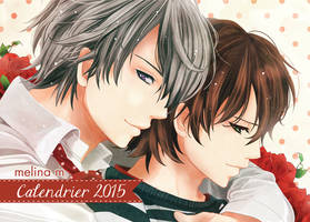 Calendrier Yaoi 2015 by melina m by melina-m