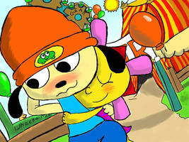 Parappa and Sunny by MrBda241