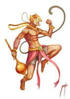 Hanuman by MarceloSperandio