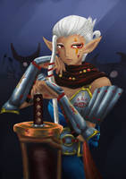 Impa [Hyrule Warriors] by SoulOfUndead