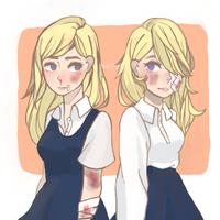 twinsies by mochija