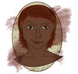Paige portrait by jasgower