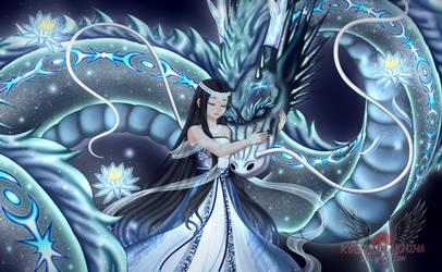 Love Nikki Contest: Moon in Water by Kyasarin-Uchiha
