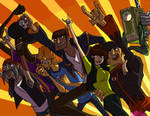 ROCK ON MOTORCITIZENS by spacerocketbunny