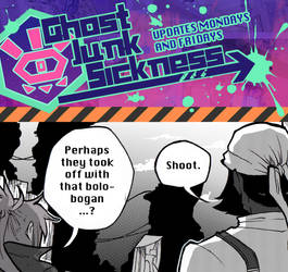 Ghost Junk Sickness CH10-- Page 38 update! by spacerocketbunny