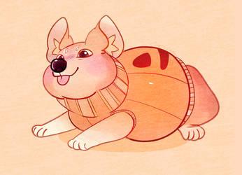 Drew A Pupper Doggo Pompkin by CheeryCandy