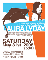 Graduation Party Invitation by KawaiiAyu