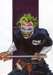 Worts Nightmares #04: The Joker by YankelZaradez