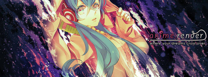 FB Banner Contest Entry - Hatsune Miku by hagane-girl