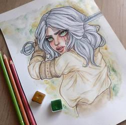 Ciri by LenielSOna