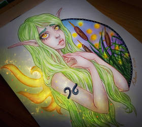 Swamp Fairy by LenielSOna