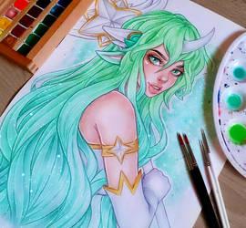 Star Guardian Soraka by LenielSOna