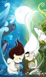 Saoirse With Aisiling by ciciya9318