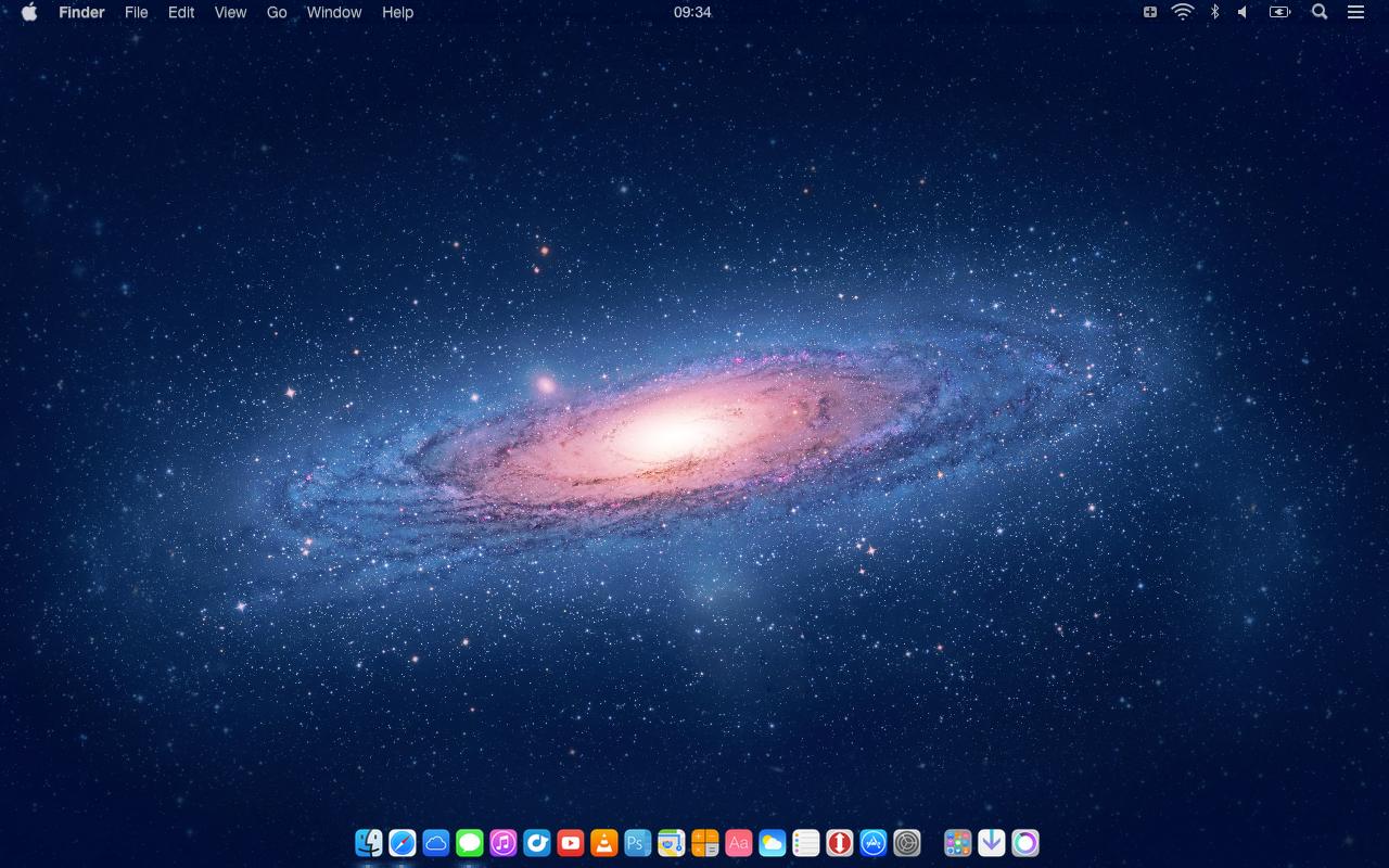 Transparent OS X Menu Bar by SkyJohn