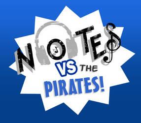 Notes vs. the Pirates. by SuperheroEnterprise