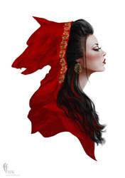Red ridding hood by mahmoodalkhaja
