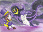 Hat Kid and The Snatcher by CherishedRose