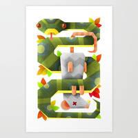 Snake vs rat by SLOE87