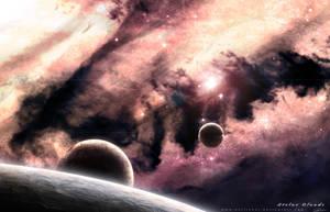 Stelar Clouds Nebula by GuilleBot