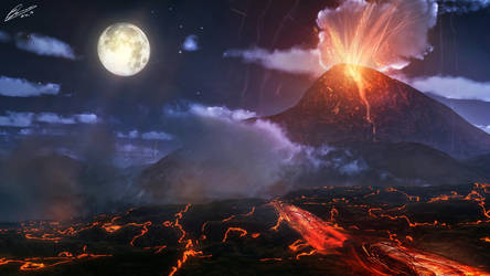 Volcano by GuilleBot
