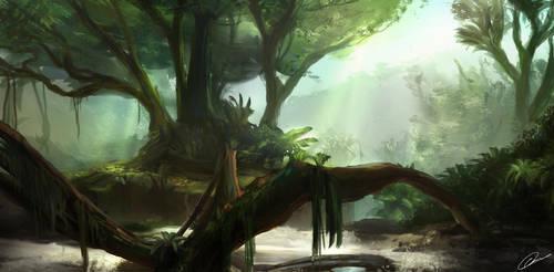 Deep Jungle by GuilleBot