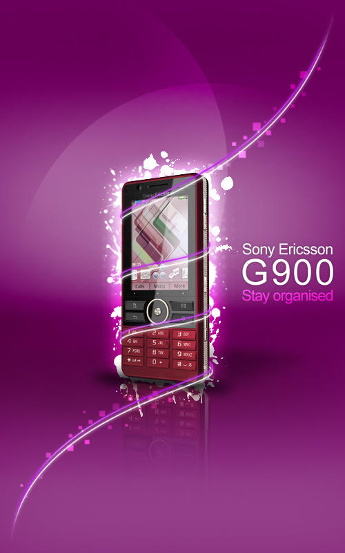 Sony Ericsson G900 by r0man-de