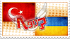 Hetalia TurkRaine Stamp by kamillyanna