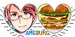 Hetalia America x Burger! by kamillyanna