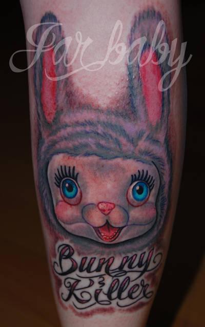 bunny killer by jarbaby